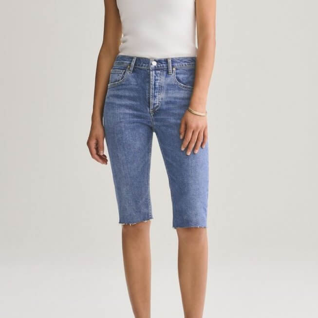 Carrie Long Slim Short in Subdued