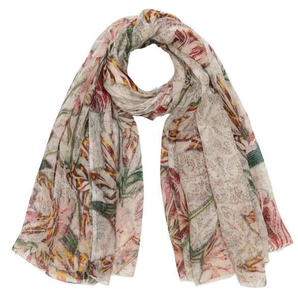 Zoe Floral scarf - Faliero Sarti