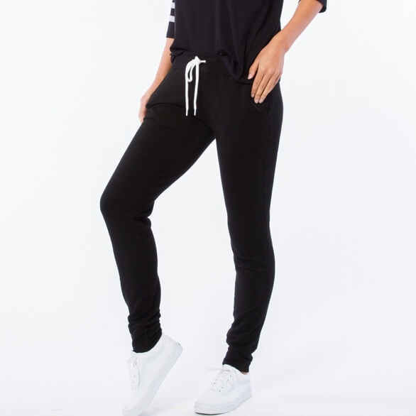 Supersoft Black Sporty Sweats w Pockets
