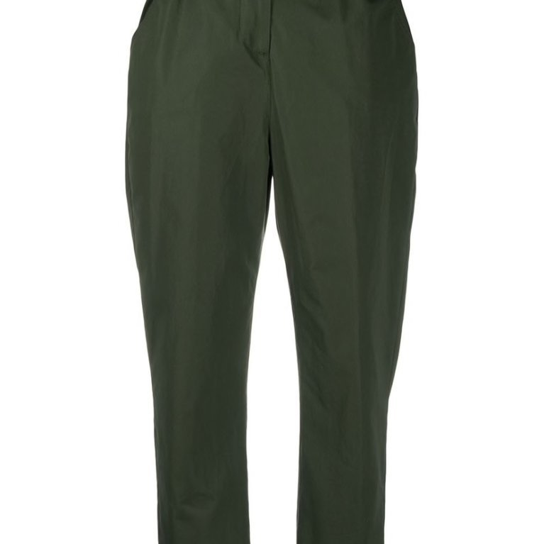 Cotton Paperbag Waist Trousers