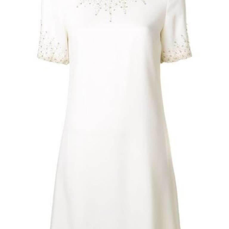 Heaven Beaded Shift Dress