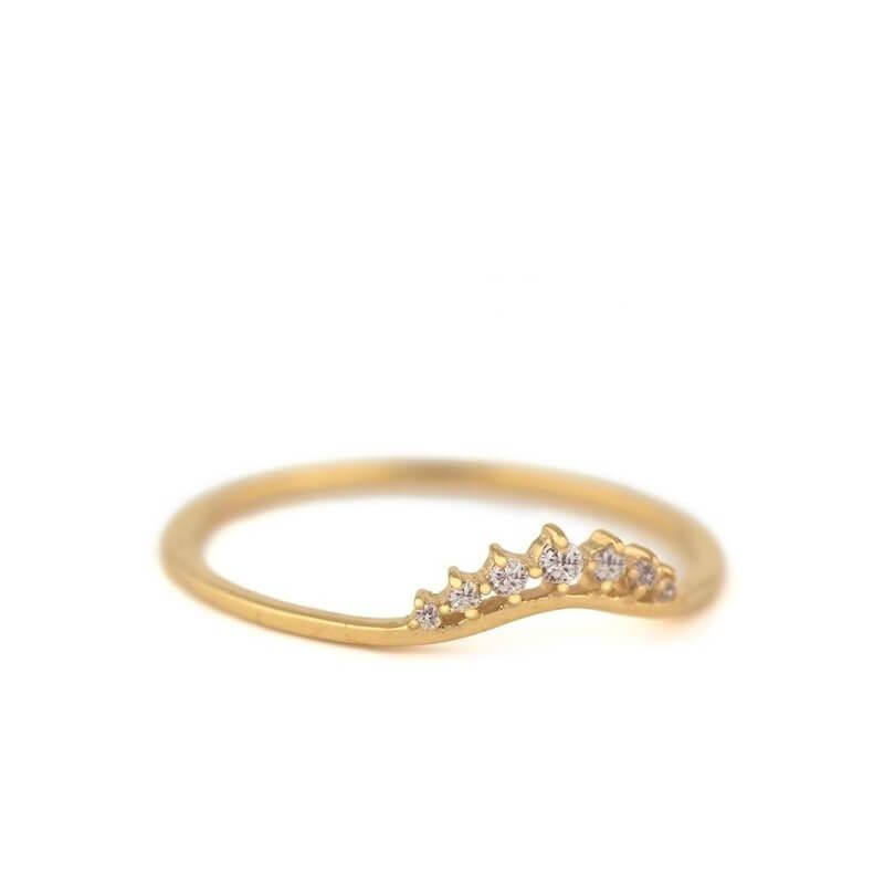 Little Crown Diamonds Ring