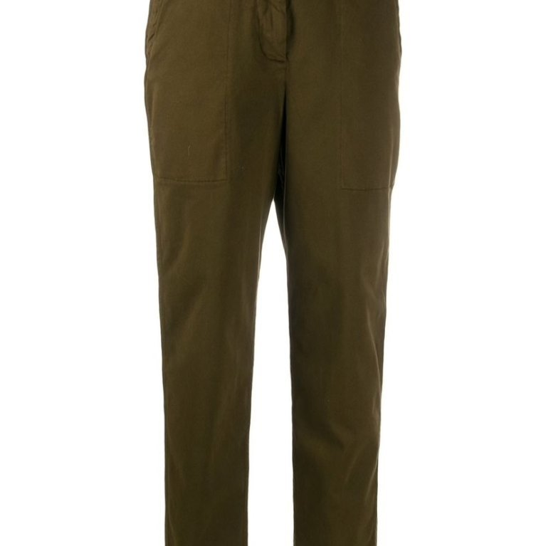 Mid-Rise Utility Trousers