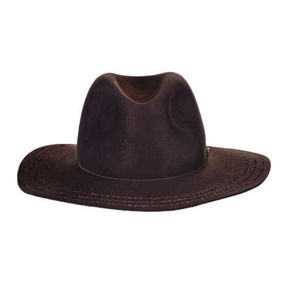 Telluride Cashmere Hat in Brown
