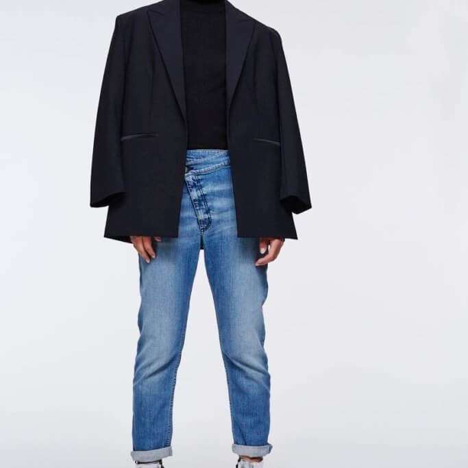 Boyfriend Denim Pants