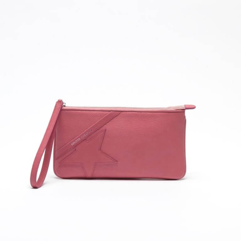 Star Wrist Clutch Bag in Pink