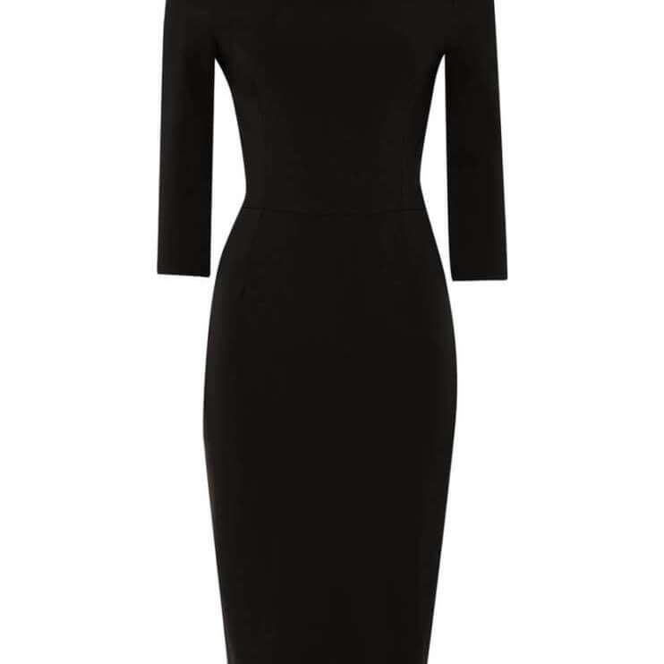 Ivy Jersey Pencil Dress