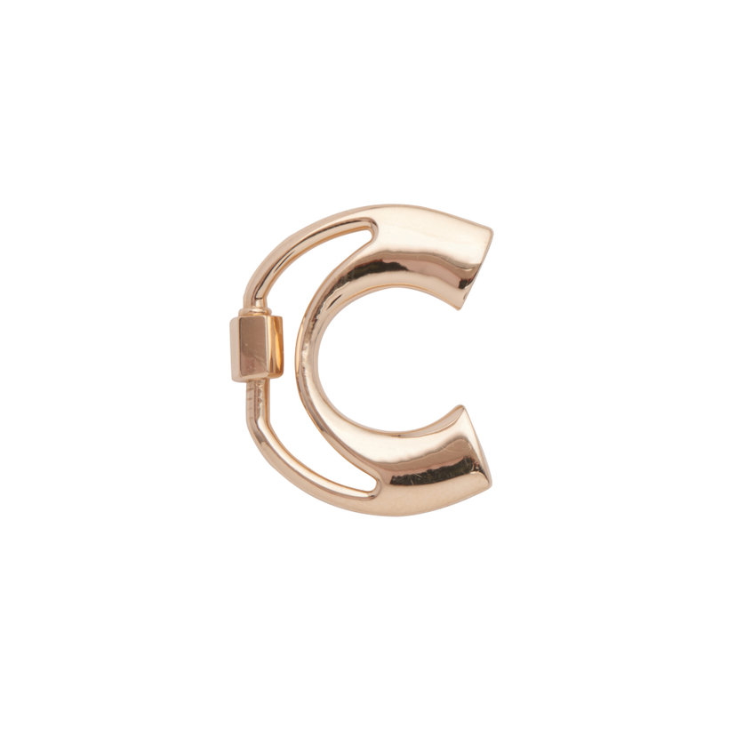 """C"" Small Letter Lock"