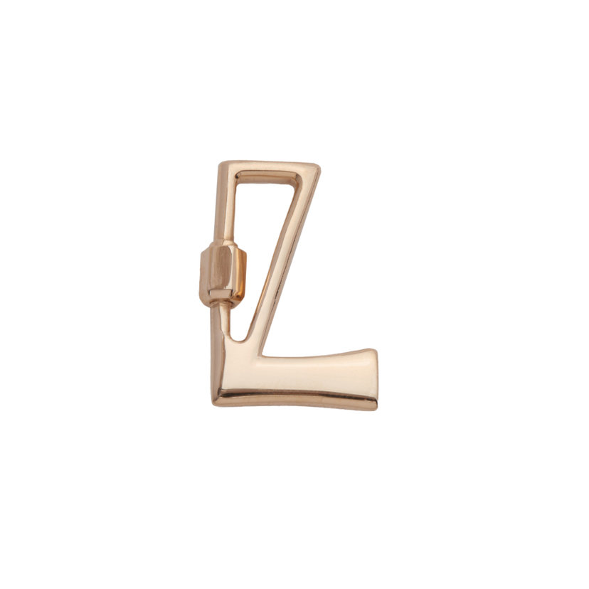 """L"" Small Letter Lock"