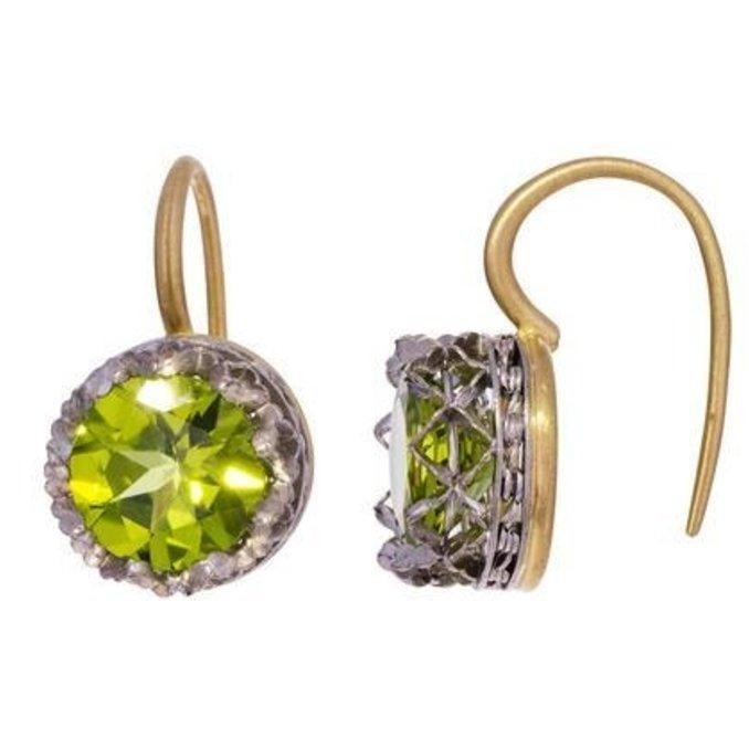 Nikolle Radi Peridot Earrings