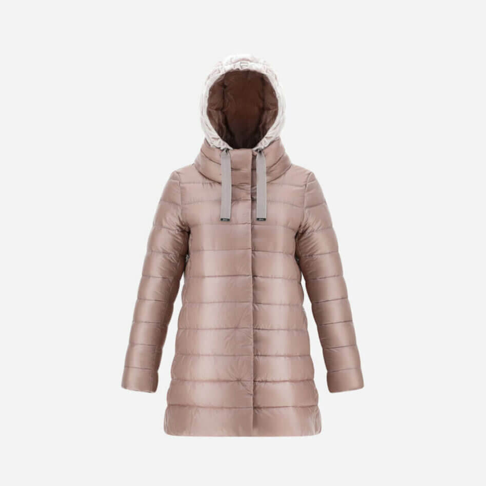 Herno Nancy A Shape Puffer in Rose