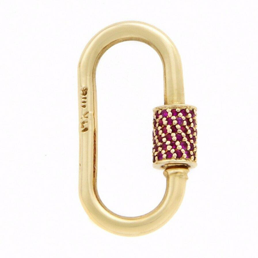 MA Stoned Medium Lock with Ruby