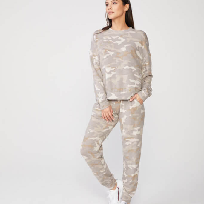 Urban Camo Girlfriend Sweats